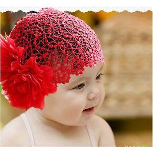 3 color flower headband newborn baby girl elastic hairband