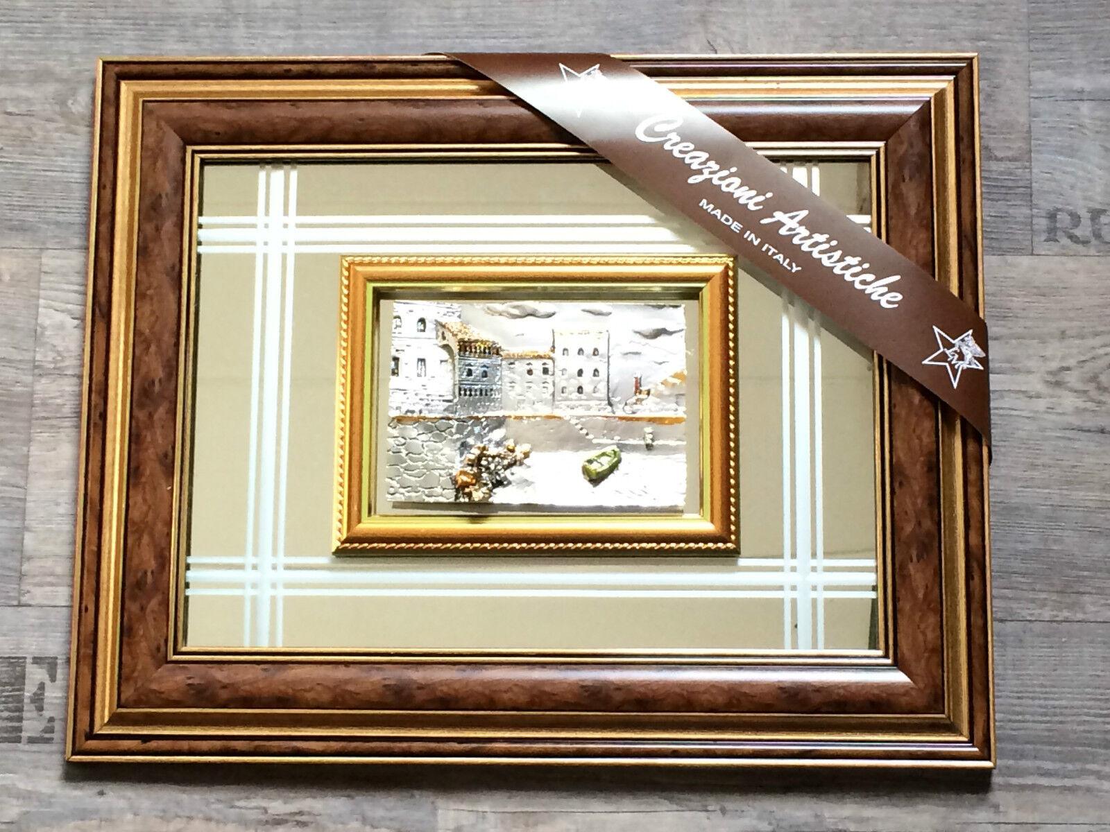 3 D Mahagoni Holz Spiegel Designer Bild Rahmen 50x40 cm Bilderrahmen ...