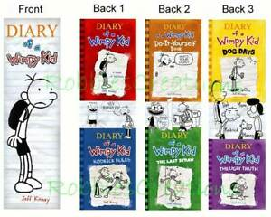 3 DIARY of a WIMPY KID BOOKMARK Dog Days THE Ugly TRUTH in Books, Accessories, Bookmarks | eBay