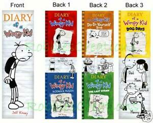 3 DIARY of a WIMPY KID BOOKMARKS Dog Days books marker in Books, Accessories, Bookmarks | eBay