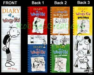 3 DIARY of a WIMPY KID BOOKMARKS Dog Days mini posters in Books, Accessories, Bookmarks | eBay