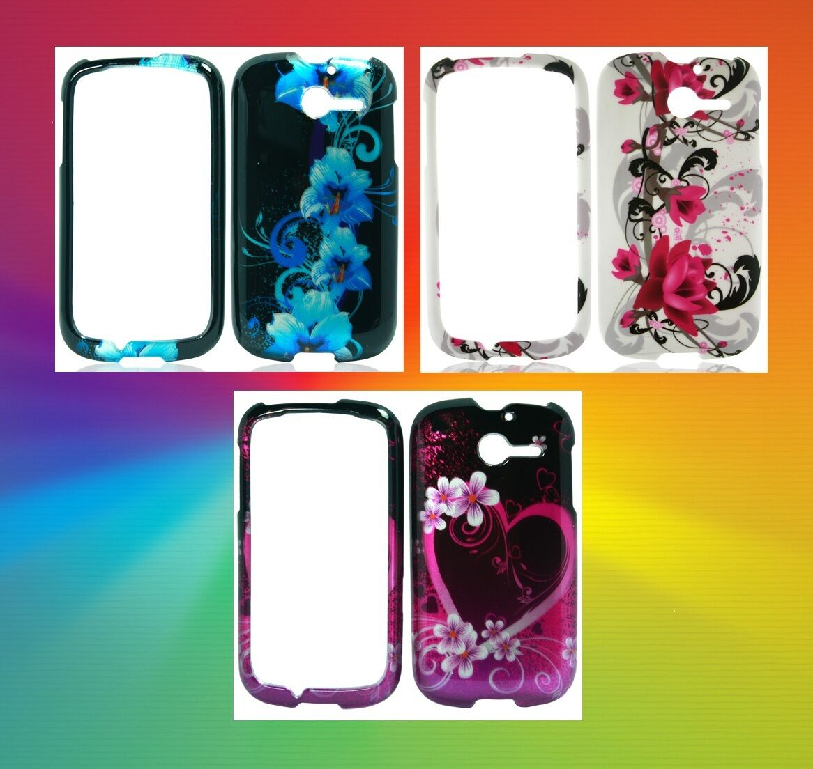 Hard Cases Snap on Phone Cover For Straight Talk Huawei Ascend Y