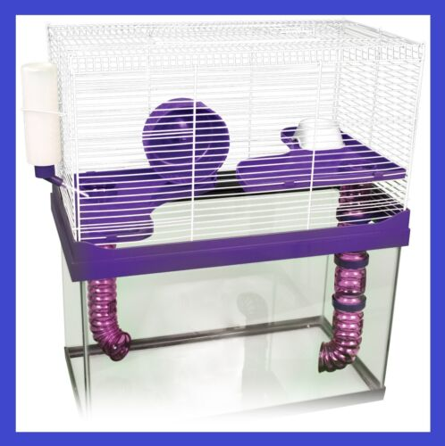 ★3 LEVEL HIGH RISE CAGE & ACCS★ FOR YOUR 10 GALLON TANK HAMSTERS, MICE, GERBIL in Pet Supplies, Small Animal Supplies | eBay