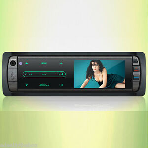 Car stereo with screen for dvd