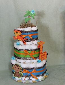 3 tier diaper cake fisher price welcome baby funfari