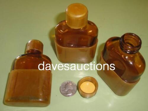 3 WW2 US Military Flask & Cup Medics Medical First Aid Kit Ammonia 1942 Original in Collectibles, Militaria, WW II (1939-45)   eBay