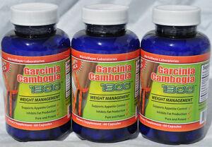 bottles-GARCINIA-CAMBOGIA-1000mg-w-POTASSIUM-CALCIUM-HCA-60-Weight ...