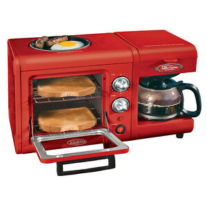 %name Toaster Oven Coffee Maker Griddle Combo