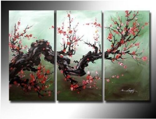 3 pieces Large Modern Abstract Art Oil Painting Wall Decor canvas (no frame) in Art, Art from Dealers & Resellers, Paintings | eBay