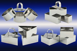 3-x-Dessertform-mit-Stampfer-Speiseform-Speisering-Dessert-Ring-Mousse-Form