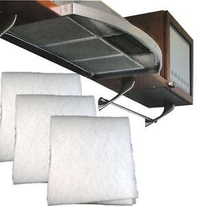 3 x fettfilter f r dunstabzugshaube universal fett filter. Black Bedroom Furniture Sets. Home Design Ideas