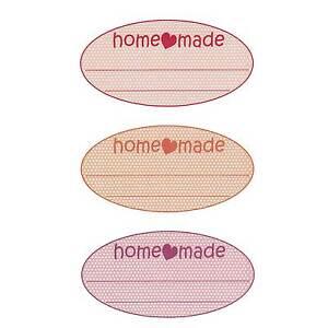 30 gastro etiketten f r gl ser selber beschriften haushaltsetiketten einmachglas ebay. Black Bedroom Furniture Sets. Home Design Ideas