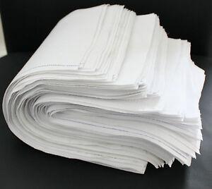 30kg-Putzlappen-Putztuecher-Reinigungstuecher-100-reine-Baumwolle-Zuschnitt-Weiss