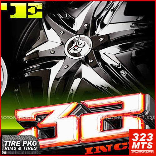 32 Escalade Yukon Hummer Rims Diablo Elite Rims Wheels Diablo Elite