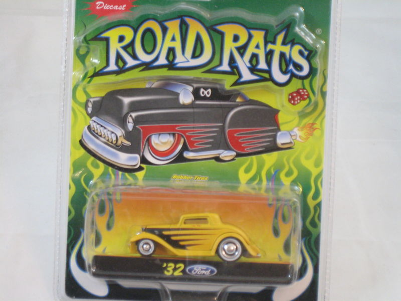 32 Ford Road Rats 164 Scale Diecast Jada Toys RARE