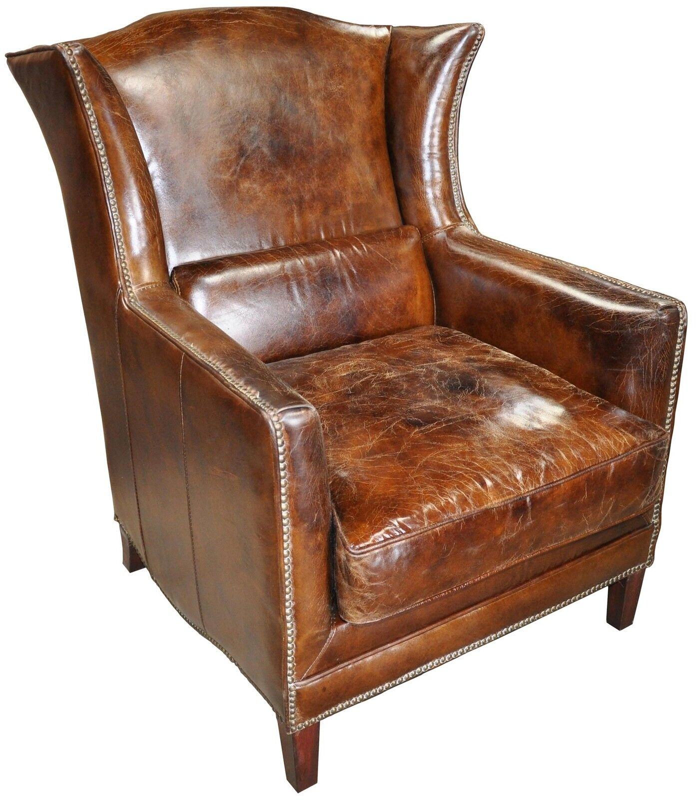Displaying 17> Images For - Old Leather Armchair...