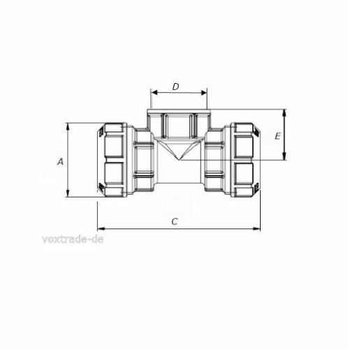32-mm-PE-Rohr-Messing-T-Stueck-mit-drei-Verschraubungen-1-DVGW-geprueft-TOP-178