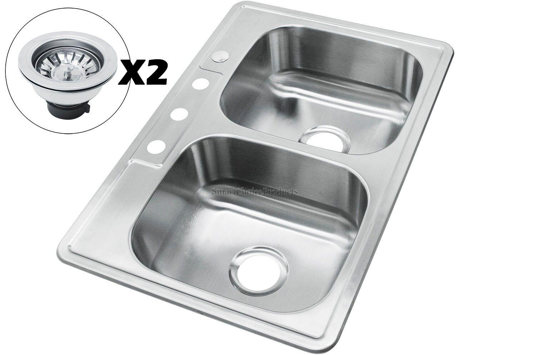 New - Undermount Equal Double Stainless Kichen bunda-daffa.com