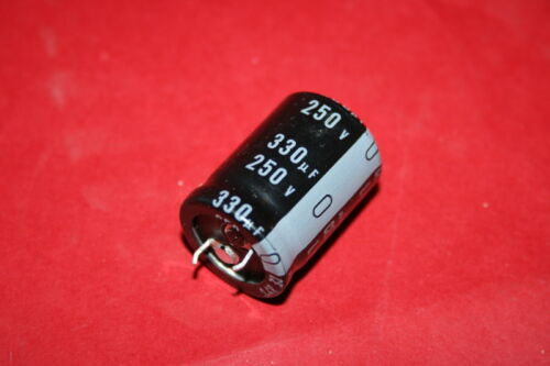 330UF 250V NICHICON LU RADIAL CAPACITOR SMALL SIZE           fbb20a