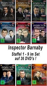 36-DVDs-INSPECTOR-BARNABY-VOLUME-1-9-NEU-OVP