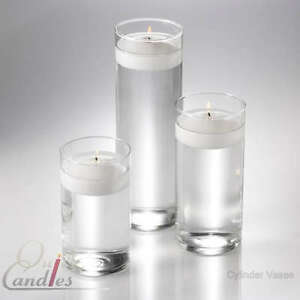 36 Glass Cylinder Vases Wedding Centerpieces Candles