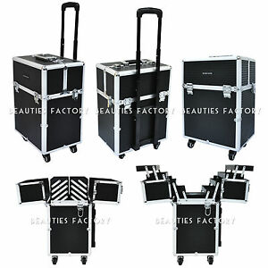 Makeup  on Wheel   Reinforced Corner Makeup Trolley Case Tokyo Collection  855