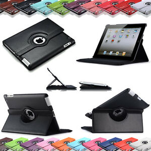 360-iPad-4-iPad-3-iPad-2-Smart-Cover-Case-Schutz-Huelle-Etui-Tasche-Folie