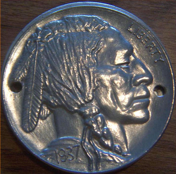 37 INDIAN NICKEL HARLEY DAVIDSON TIMING POINTS COVER