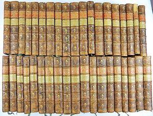 38-BAENDE-BUFFON-HISTOIRE-NATURELLE-LEXIKON-NATUR-GESCHICHTE-BERN-1792-D819S