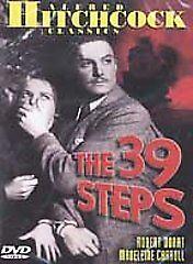 The 39 Steps (DVD, 2002)