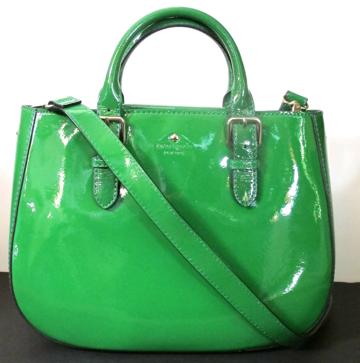 New Authentic Kate Spade Charlotte Street Sylvie Patent Leather