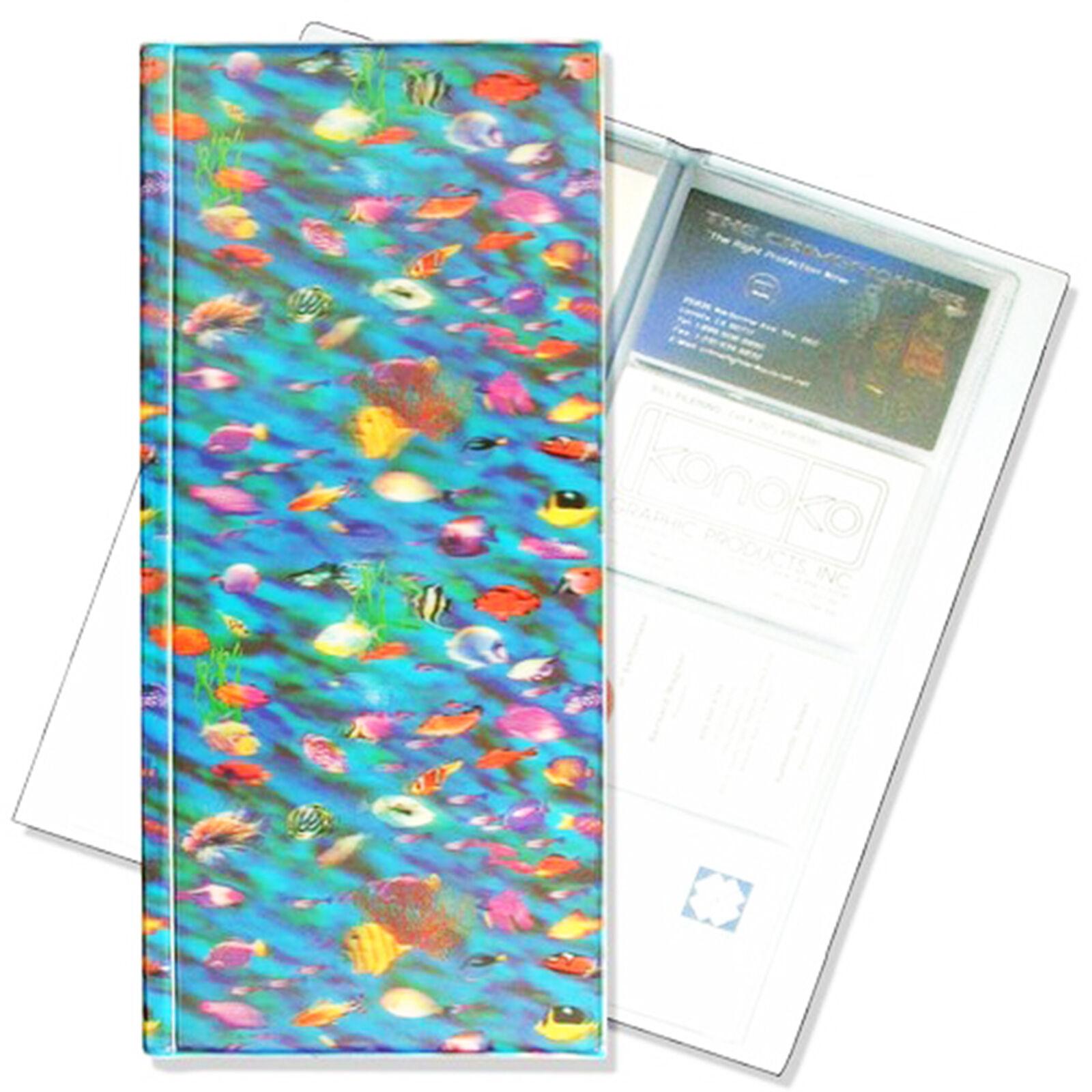 Business Card Book File Fish Sea Ocean Underwater 3D