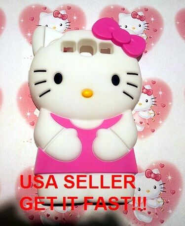 3D PINK Hello Kitty Silicone Soft Skin Case For Samsung Galaxy S3 i9300 SIII in Cell Phones & Accessories, Cell Phone Accessories, Cases, Covers & Skins | eBay