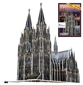 3d puzzle k lner dom 231 teile ab 10 jahre ebay. Black Bedroom Furniture Sets. Home Design Ideas