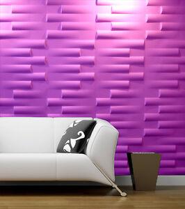 3D-Wandverkleidung-Paneele-Wandpaneele-Tapeten-Fliesen-Riemchen-Verblender-Farbe