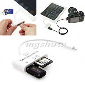 3In-1-Usb-Kit-SD-Card-Reader-Kamera-Kartenleser-Adapter-fuer-iPad-4-Mini-Air