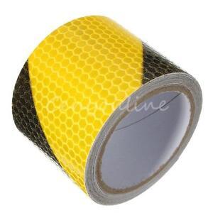 3m klebeband warnklebeband reflektorband sicherheit markierung band gelb schwarz ebay. Black Bedroom Furniture Sets. Home Design Ideas
