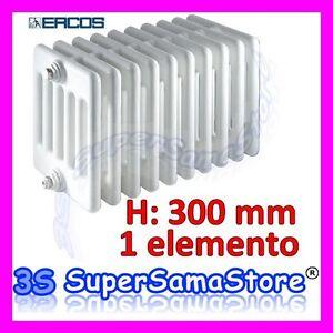 3s calorifero tubolare acciao h 300 mm comby ercos for Radiatori in ghisa ercos
