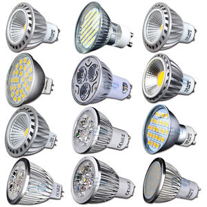 3W-4W-5W-6W-7W-GU10-MR16-E14-Dimmbar-OPTIONAL-LED-Strahler-Lampe-60-SMD-Licht