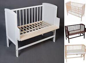 3in1-Beistellbett-Baby-Wiege-Kinder-Anstell-Bett-Kiefer-voll-massiv-Lit-Cododo