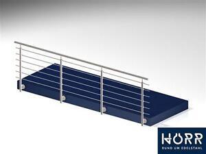 3m gel nder edelstahl bausatz absperrung balkon schutz ebay. Black Bedroom Furniture Sets. Home Design Ideas
