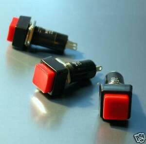 3x-Drucktastenschalter-Druckschalter-Tastenschalter-NEU