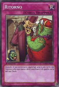3x Ritorno - Return YU-GI-OH! GAOV-IT075 Ita COMMON 1 Ed.