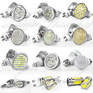 4-10-20-x-4W-6W-8W-29SMD-48SMD-GU10-MR16-LED-Strahler-Licht-Lampe-Leuchte-Bulb