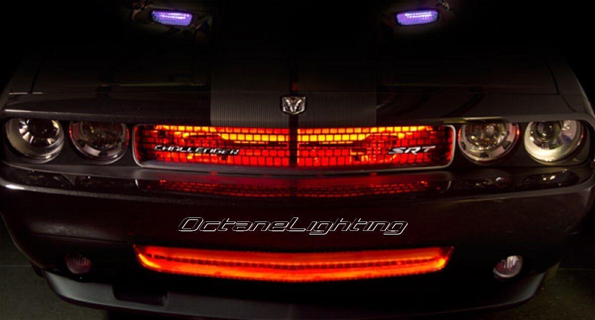 4 12 red car truck rv grill hood 15 led under glow waterproof light bulb strips ebay. Black Bedroom Furniture Sets. Home Design Ideas