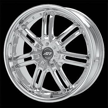 4 16x7 5 110 American Racing Haze Chrome Wheels Rims Chevy Malibu HHR Cobalt