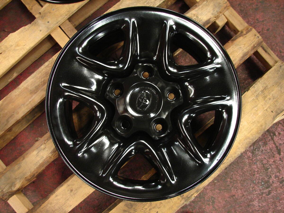 "4 18"" 2007 2013 Toyota Tundra Black Wheels Rims 69547"