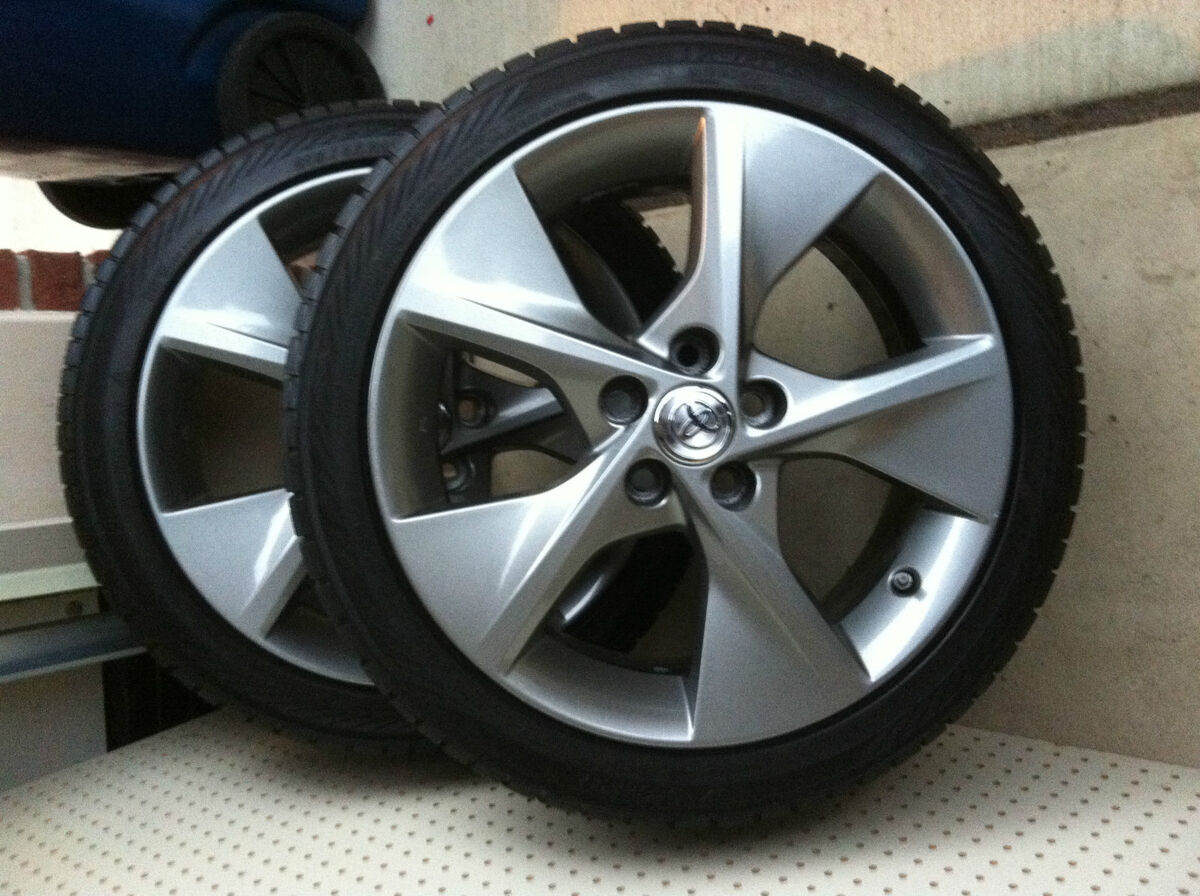 4 18 Toyota Camry 5 Spoke Alloy Wheels Rims With Tires And Tpms Bbs