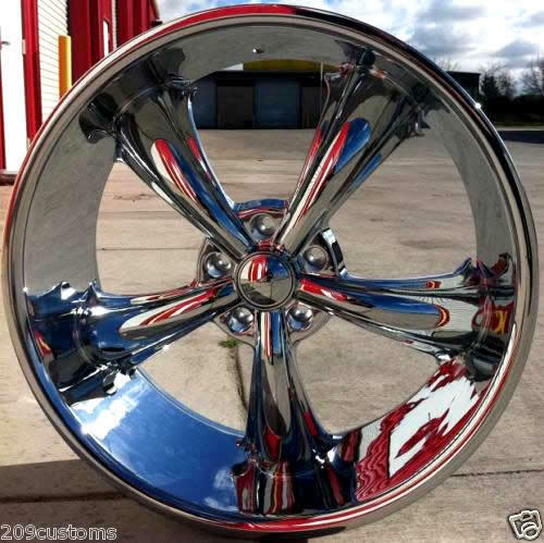 """4 24"""" inch Rims Wheels Tires DW19 5x115 Charger Challenger Chrysler 300 Magnum"""