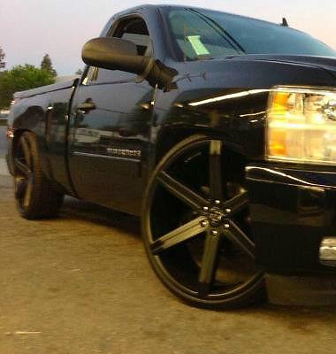 """4 26"""" inch Wheels Tires Rims VW 228 Escalade Tahoe Silverado Avalanche"""